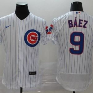 Men's Chicago Cubs Javier Baez Jersey